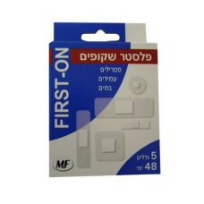 A set of transparent plasters in 5 sizes - First On