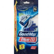 Disposable razors for men with a moisturizing strip Goodmax disposable, 5 pcs