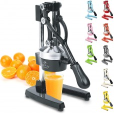 Professional hand pressed professional mineral orange and lemon squeezer with high quality heavy duty