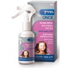 Hadrin ONCE spray sprays lice and lice eggs in one treatment especially for long hair 100 / 250 ml
